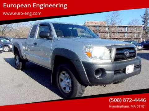 2008 Toyota Tacoma for sale at European Engineering in Framingham MA