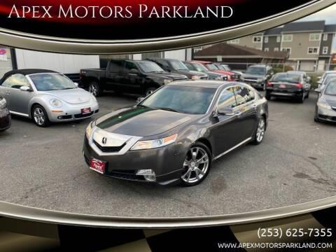 2009 Acura TL for sale at Apex Motors Parkland in Tacoma WA