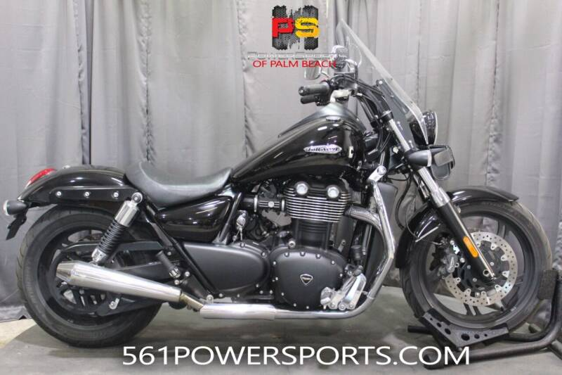 2012 Triumph Thunderbird for sale at Powersports of Palm Beach in Hollywood FL