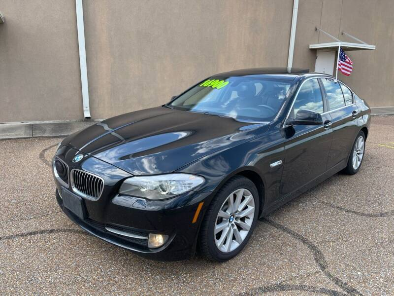 2013 BMW 5 Series for sale at The Auto Toy Store in Robinsonville MS
