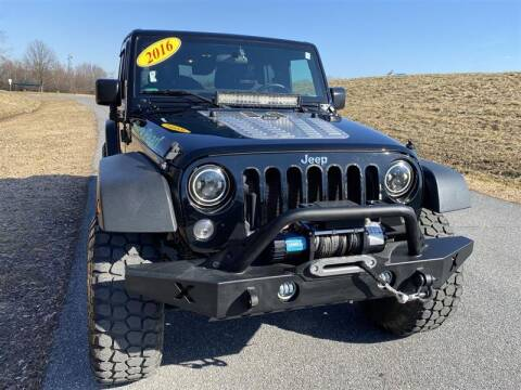 2016 Jeep Wrangler Unlimited for sale at Mr. Car LLC in Brentwood MD