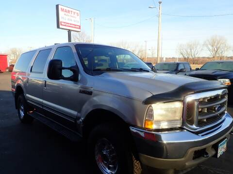 2002 Ford Excursion for sale at Marty's Auto Sales in Savage MN