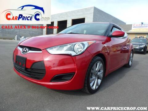 2016 Hyundai Veloster for sale at CarPrice Corp in Murray UT