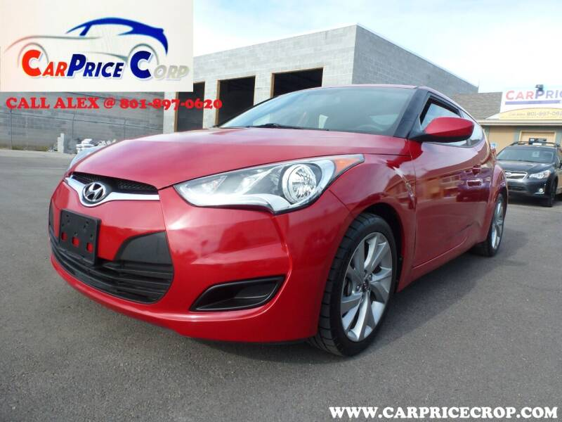2016 Hyundai Veloster for sale at CarPrice Corp in Murray UT