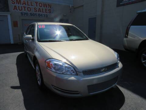 2012 Chevrolet Impala for sale at Small Town Auto Sales in Hazleton PA