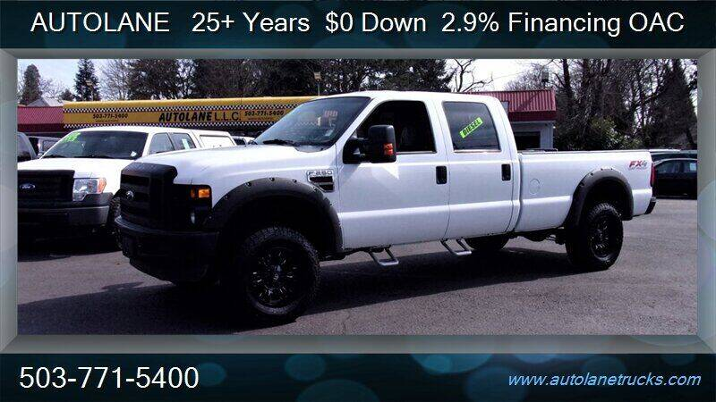 2010 Ford F-250 Super Duty for sale at Auto Lane in Portland OR