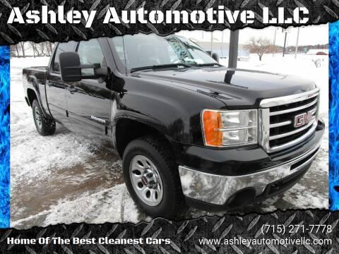 2012 GMC Sierra 1500 for sale at Ashley Automotive LLC in Altoona WI