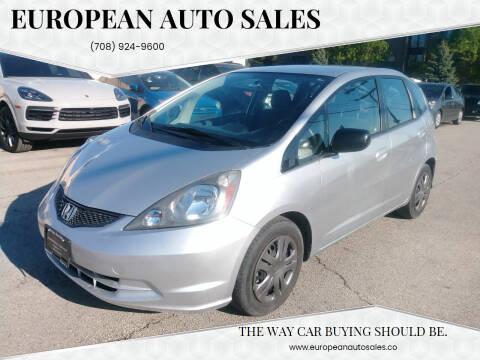 2011 Honda Fit for sale at European Auto Sales in Bridgeview IL