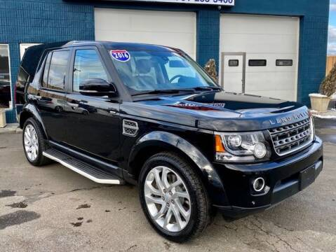 2016 Land Rover LR4 for sale at Saugus Auto Mall in Saugus MA