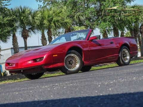1991 Pontiac Firebird for sale at SURVIVOR CLASSIC CAR SERVICES in Palmetto FL