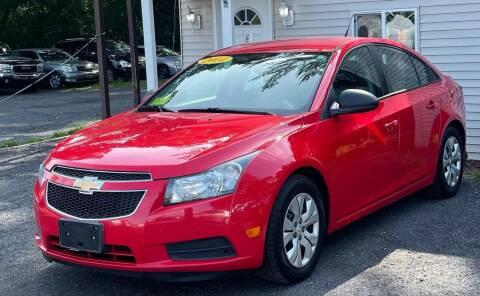 2014 Chevrolet Cruze for sale at Landmark Auto Sales Inc in Attleboro MA