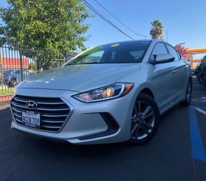 2017 Hyundai Elantra for sale at LUGO AUTO GROUP in Sacramento CA