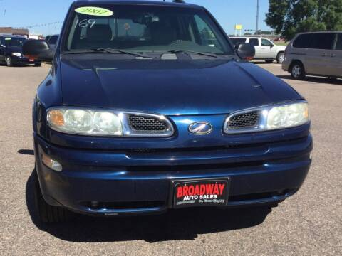 2002 Oldsmobile Bravada for sale at Broadway Auto Sales in South Sioux City NE