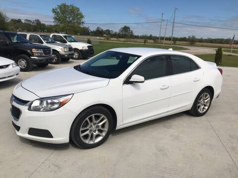 2014 Chevrolet Malibu for sale at The Auto Depot in Mount Morris MI