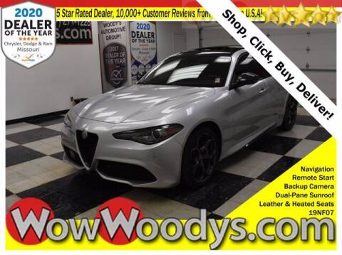 2019 Alfa Romeo Giulia for sale at WOODY'S AUTOMOTIVE GROUP in Chillicothe MO