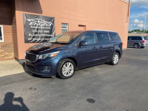 2015 Kia Sedona for sale at ENZO AUTO in Parma OH