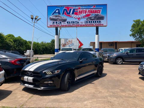 2015 Ford Mustang for sale at ANF AUTO FINANCE in Houston TX