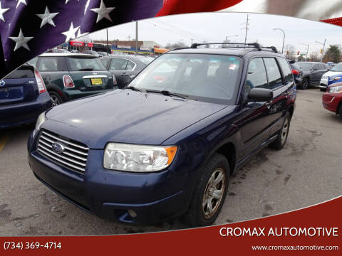 2006 Subaru Forester for sale at Cromax Automotive in Ann Arbor MI
