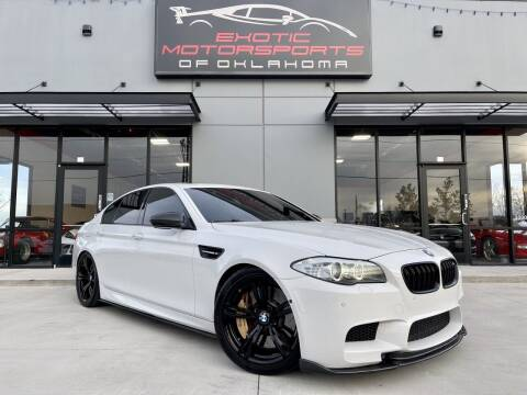 2013 BMW M5 for sale at Exotic Motorsports of Oklahoma in Edmond OK