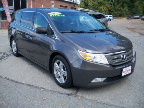 2012 Honda Odyssey for sale at Charlies Auto Village in Pelham NH