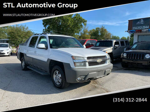 2002 Chevrolet Avalanche for sale at STL Automotive Group in O'Fallon MO