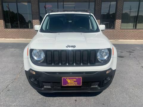 2017 Jeep Renegade for sale at Washington Motor Company in Washington NC