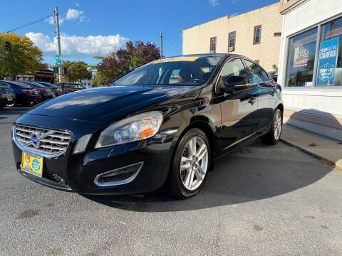 2013 Volvo S60 for sale at ADAM AUTO AGENCY in Rensselaer NY