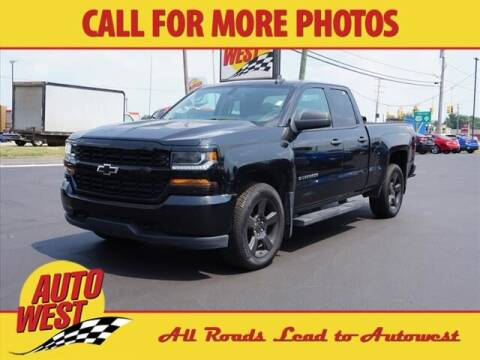 2016 Chevrolet Silverado 1500 for sale at Autowest of Plainwell in Plainwell MI