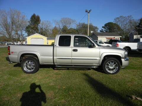 2006 GMC Sierra 1500 for sale at SeaCrest Sales, LLC in Elizabeth City NC
