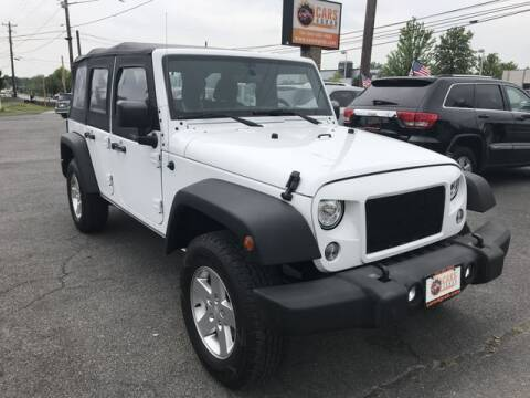 2018 Jeep Wrangler JK Unlimited for sale at Cars 4 Grab in Winchester VA