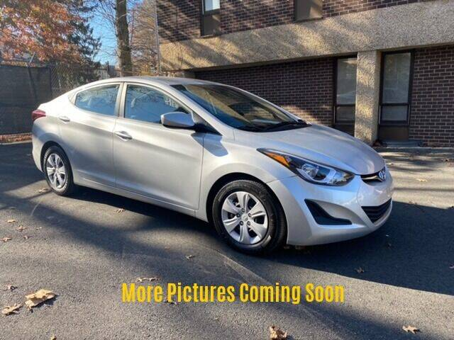2016 Hyundai Elantra for sale at Warner Motors in East Orange NJ