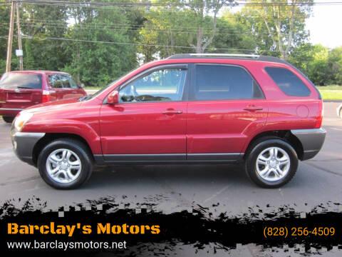 2008 Kia Sportage for sale at Barclay's Motors in Conover NC