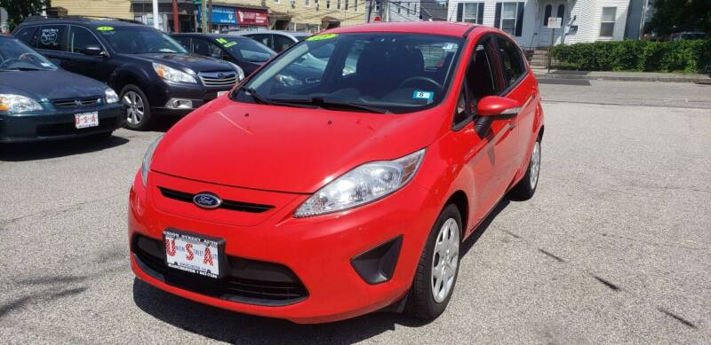 2013 Ford Fiesta for sale at Union Street Auto in Manchester NH