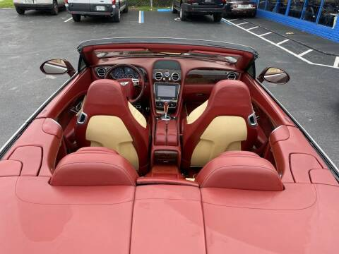 2015 Bentley Continental for sale at Prestigious Euro Cars in Fort Lauderdale FL