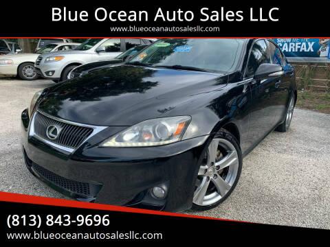 2011 Lexus IS 250 for sale at Blue Ocean Auto Sales LLC in Tampa FL