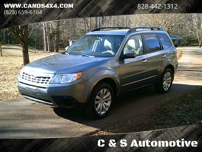 2011 Subaru Forester for sale at C & S Automotive in Nebo NC