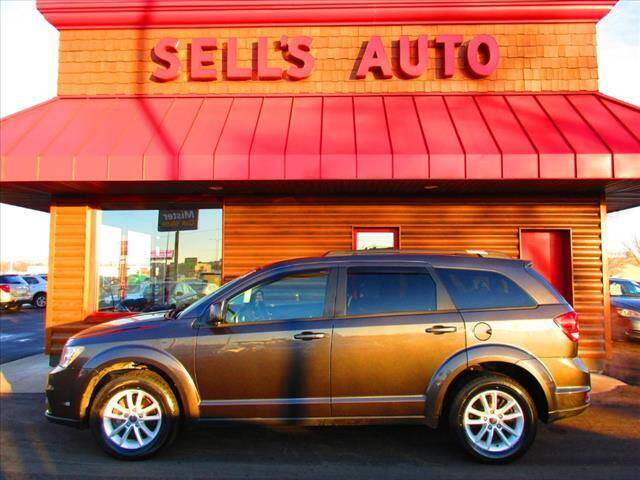 2017 Dodge Journey for sale at Sells Auto INC in Saint Cloud MN