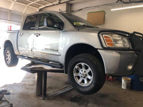 2006 Nissan Titan for sale at Barga Motors in Tewksbury MA