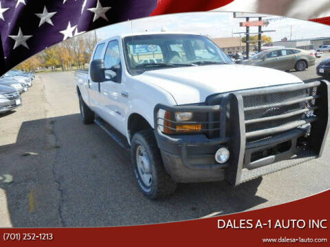 2007 Ford F-250 Super Duty for sale at Dales A-1 Auto Inc in Jamestown ND