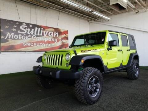 2017 Jeep Wrangler Unlimited for sale at SULLIVAN MOTOR COMPANY INC. in Mesa AZ