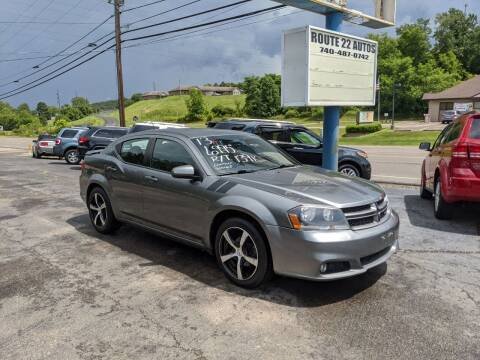 2013 Dodge Avenger for sale at Route 22 Autos in Zanesville OH