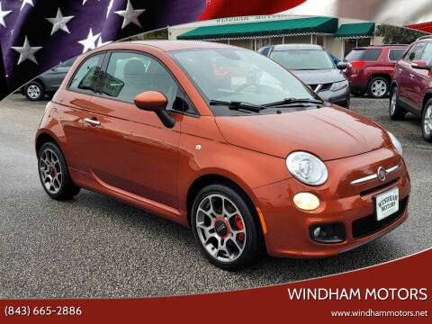2013 FIAT 500 for sale at Windham Motors in Florence SC