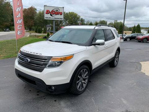2015 Ford Explorer for sale at D-Cars LLC in Zeeland MI