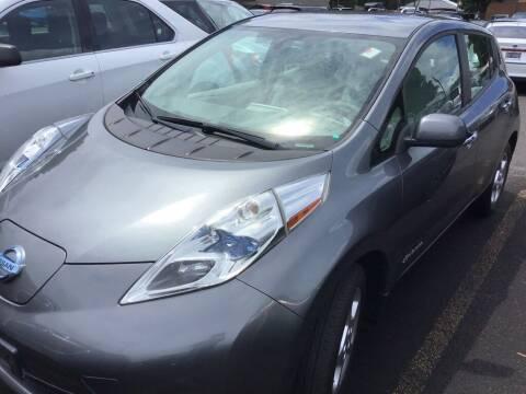 2015 Nissan LEAF for sale at Royal Moore Custom Finance in Hillsboro OR