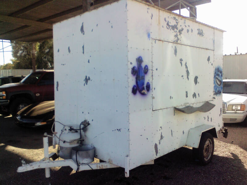2000 Homeade Food Vending Trailer for sale at 48TH STATE AUTOMOTIVE in Mesa AZ