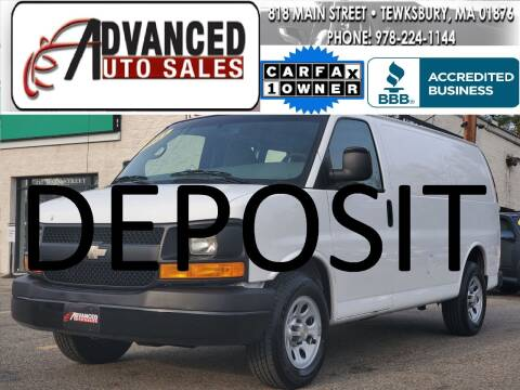 2011 Chevrolet Express Cargo for sale at Advanced Auto Sales in Tewksbury MA