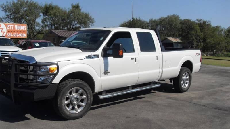 2016 Ford F-350 Super Duty for sale at 277 Motors in Hawley TX