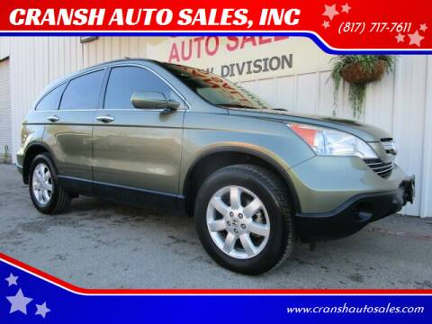 2008 Honda CR-V for sale at CRANSH AUTO SALES, INC in Arlington TX