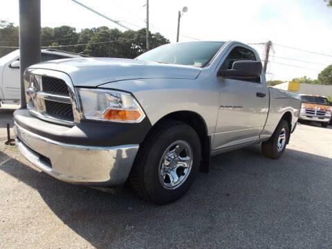 2012 RAM Ram Pickup 1500 for sale at Deer Park Auto Sales Corp in Newport News VA
