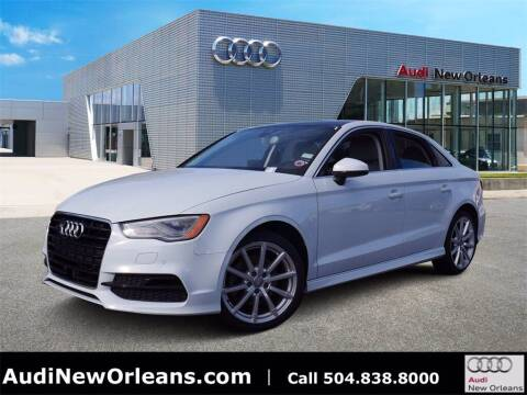 2015 Audi A3 for sale at Metairie Preowned Superstore in Metairie LA